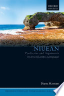 Niuean Predicates And Arguments In An Isolating Language