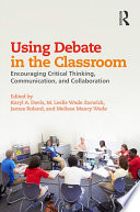 Using Debate in the Classroom
