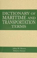 Dictionary of Maritime and Transportation Terms
