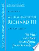 William Shakespeare Richard Iii