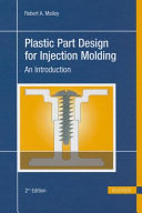 Plastic Part Design For Injection Molding Book PDF