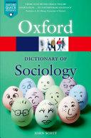 A Dictionary of Sociology Pdf/ePub eBook
