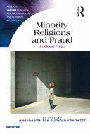 Minority Religions and Fraud Pdf/ePub eBook