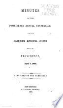 Year-book of the Annual Conference