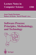Software Process  Principles  Methodology  and Technology
