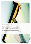 Die Balanced Scorecard für Non-Profit-Organisationen