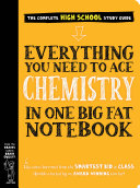 Everything You Need to Ace Chemistry in One Big Fat Notebook Pdf/ePub eBook