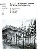 Component Biomass Equations for Black Spruce in Maine