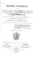 Histoire universelle de l'église catholique
