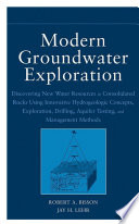 Modern Groundwater Exploration Book