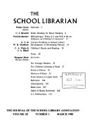 The School Librarian