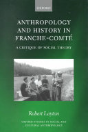 Anthropology and History in Franche Comt