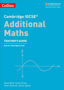 Cambridge IGCSE® Additional Maths Teacher Guide