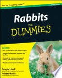 """Rabbits For Dummies"" by Connie Isbell, Audrey Pavia"