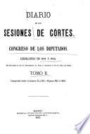 Diario de las sesiones ...  : Legislatura ... , Band 2