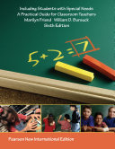 Including Students with Special Needs  Pearson New International Edition