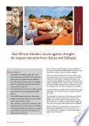 East African Herders Insure Against Drought An Impact Narrative From Kenya And Ethiopia