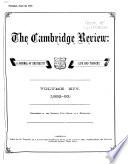 The Cambridge Review Book