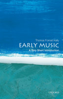 Early Music  A Very Short Introduction