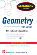 Schaum's Outline of Geometry, 5th Edition: 665 Solved Problems + 25 ...