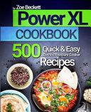 Power XL Cookbook Book