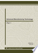 Advanced Manufacturing Technology  ADME 2011