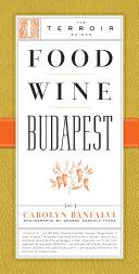 Food Wine Budapest Book