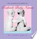 The Distinctive Book of Redneck Baby Names