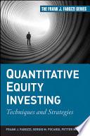 Quantitative Equity Investing