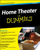 """Home Theater For Dummies"" by Danny Briere, Pat Hurley"