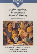 Major Problems in American Women s History Book
