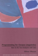 Programming for Corpus Linguistics