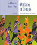 Working In Groups Book PDF