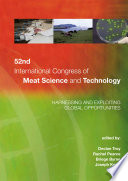 52nd International Congress of Meat Science and Technology