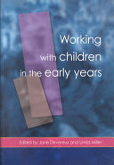 Cover of Working with Children in the Early Years