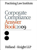 Corporate Compliance Answer Book 2009