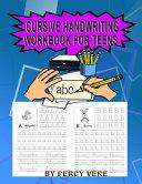 Cursive Handwriting Workbook For Teens