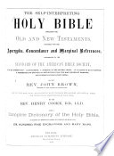 The Self-interpreting Holy Bible
