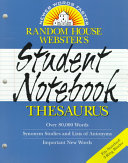 Random House Webster s Student Notebook Thesaurus