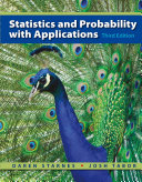 Statistics and Probability with Applications  High School  Book