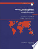 Effects of Financial Globalization on Developing Countries: Some Empirical Evidence