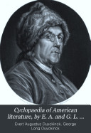 Cyclopaedia of American literature, by E. A. and G. L. Duyckinck