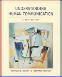 Custom Version of Understanding Human Communication