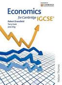 Economics for Cambridge IGCSE Book Cover