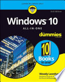 """""""Windows 10 All-in-One For Dummies"""" by Woody Leonhard"""