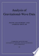 Analysis of Gravitational Wave Data