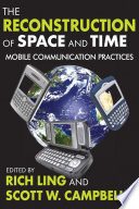 The Reconstruction of Space and Time