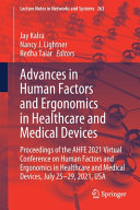 Advances in Human Factors and Ergonomics in Healthcare and Medical Devices Book