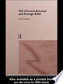 The Current Account And Foreign Debt Book PDF