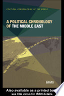 A Political Chronology of the Middle East